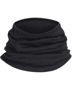 Icebreaker Adult Flexi Chute Neck Warmer - Black OS