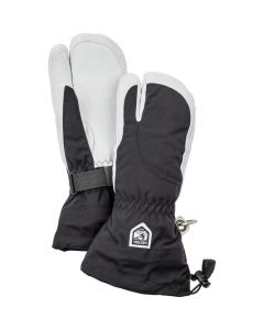 Hestra Heli Female Ski 3 Finger Ski Gloves - Black