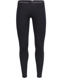 Icebreaker Oasis Bodyfit Womens Thermal Leggings - Black