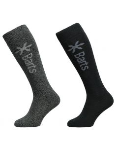 Barts twin pack mens ski socks and mens skiwear