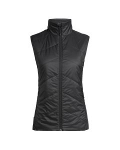 Icebreaker UK Womens Helix Vest, Black